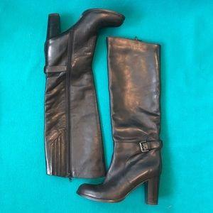 Sesto Meucci High Heeled Leather Boots  Sz 8